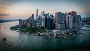 Lower Manhattan - click on the image to see it larger.
