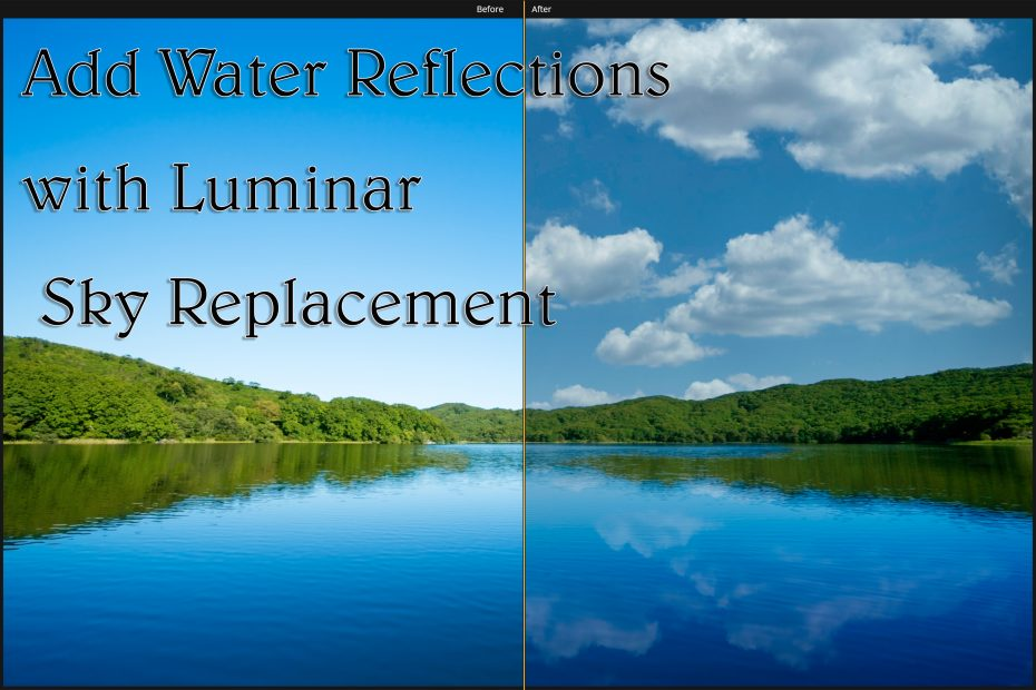 Luminar Water Reflection